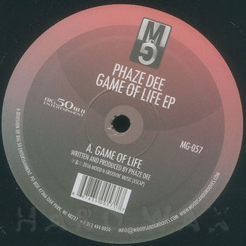 Cover art - Phaze Dee: Game Of Life EP