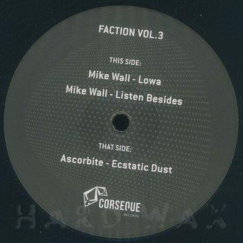 Cover art - Mike Wall / Ascorbite: Faction Vol. 3