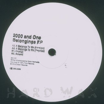 Cover art - 2000 And One: Belongings