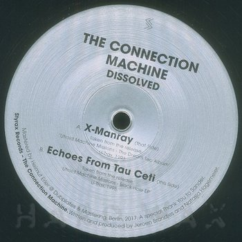 Cover art - The Connection Machine: Dissolved