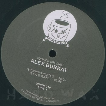 Cover art - Alex Burkat: Last Days Of Flatbush EP