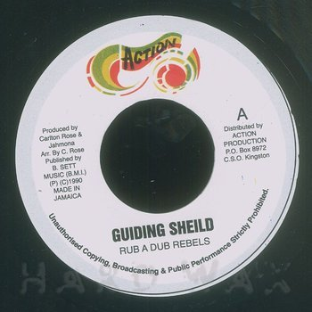 Cover art - Rub A Dub Rebels: Guiding Shield