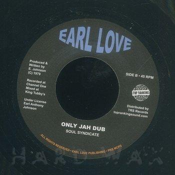 Cover art - Earl Zero: Only Jah