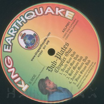 Cover art - King Earthquake: Dubplates Chapter One