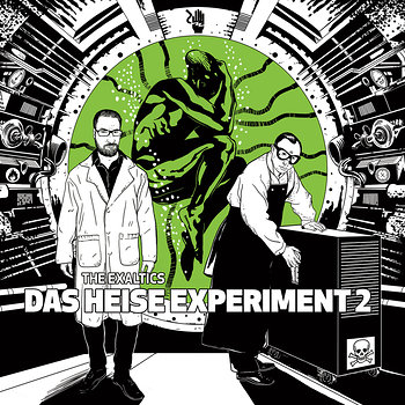Cover art - The Exaltics: Das Heise Experiment 2