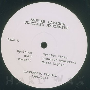 Cover art - Ashtar Lavanda: Unsolved Mysteries