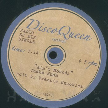 Cover art - Frankie Knuckles: Edits #5401