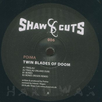 Cover art - Poima: Twin Blades Of Doom
