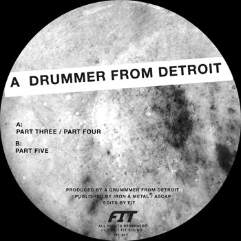 Cover art - A Drummer From Detroit: Drums #2