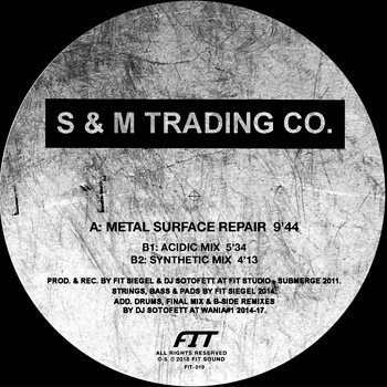 Cover art - S & M Trading Co.: Metal Surface Repair