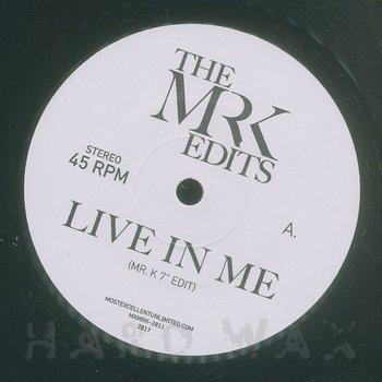 Cover art - Mr. K: Live In Me