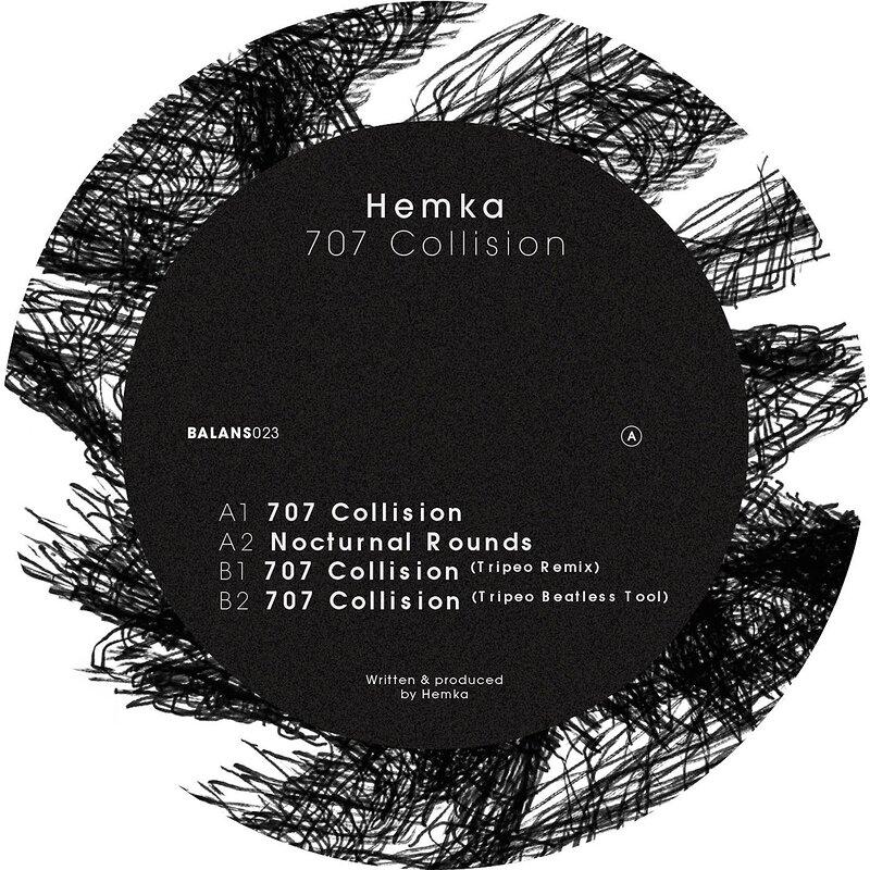 Cover art - Hemka: 707 Collision