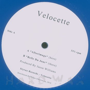 Cover art - Velocette: Afterimage / Belle Du Jour