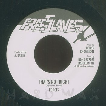 Cover art - Forces: That's Not Right