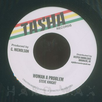 Cover art - Steve Knight: Woman A Problem