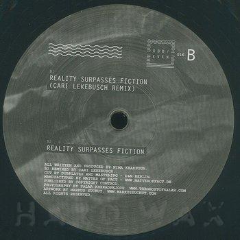 Cover art - Nima Khak: Reality Surpasses Fiction