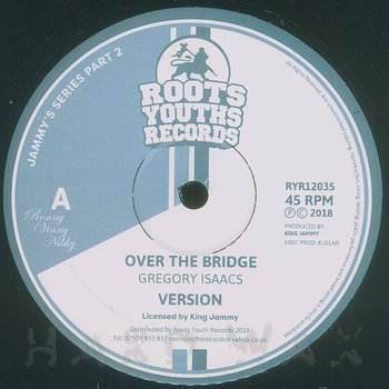 Cover art - Gregory Isaacs: Over The Bridge