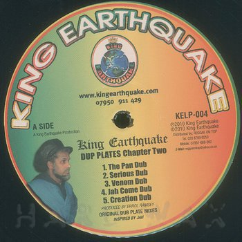 Cover art - King Earthquake: Dubplates Chapter Two