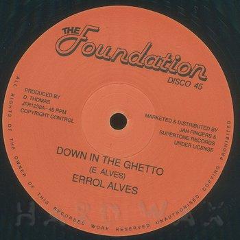 Cover art - Errol Alves: Down In The Ghetto