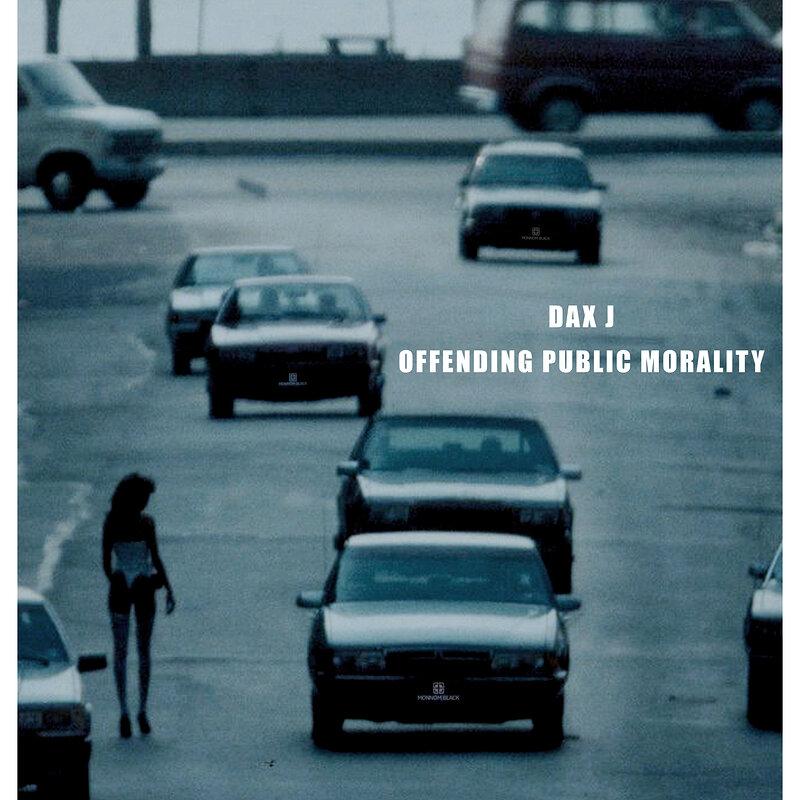 Cover art - Dax J: Public Morality