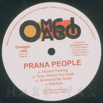 Cover art - Prana People: Prana People