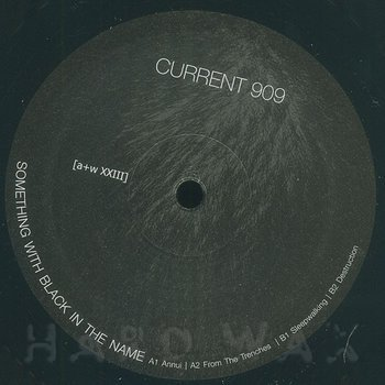 Cover art - Current 909: Something With Black In The Name