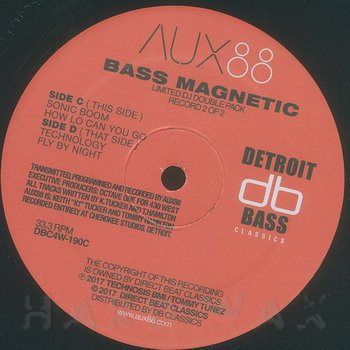 Cover art - Aux 88: Bass Magnetic