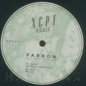 Cover art - Farron: Bistro Baggio