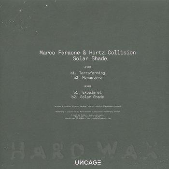 Cover art - Marco Faraone & Hertz Collision: Solar Shade