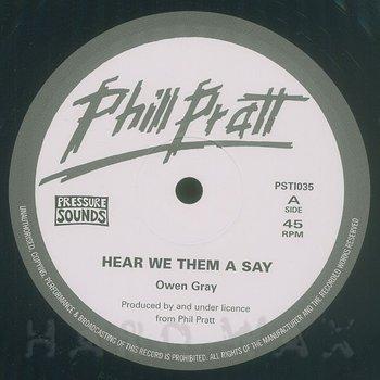 Cover art - Owen Gray: Hear We Them A Say