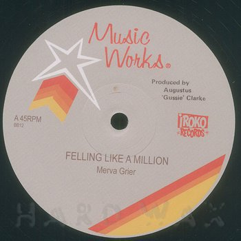 Cover art - Merva Grier: Feeling Like A Million