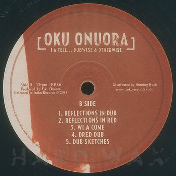 Cover art - Oku Onuora: I A Tell... Dubwise & Otherwise