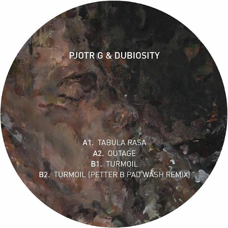 Cover art - Pjotr G & Dubiosity: Tabula Rasa