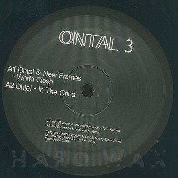 Cover art - Ontal & New Frames: World Clash