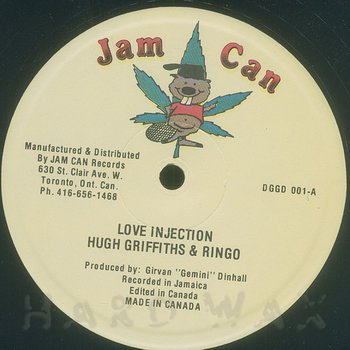 Cover art - Hugh Griffiths & Ringo: Love Injection