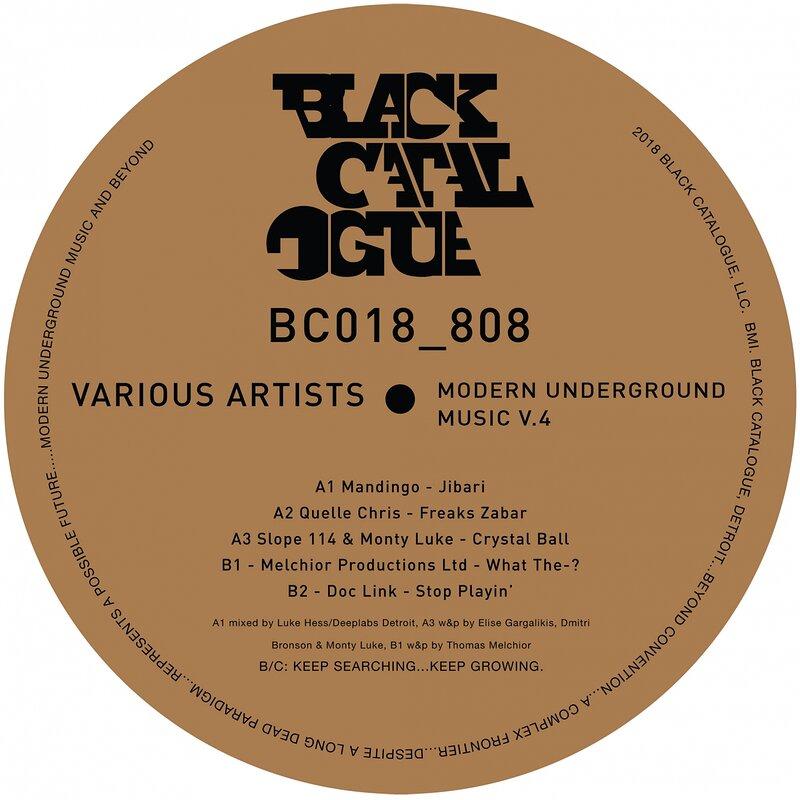 Cover art - Various Artists: Modern Underground Music V.4