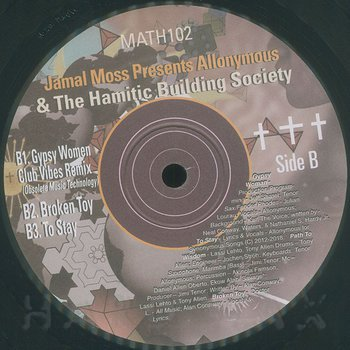 Cover art - Jamal Moss pres.: Allonymous & The Hamitic Building Society