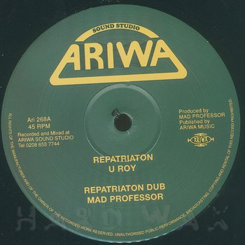 Cover art - U-Roy: Repatriation