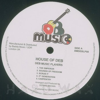 Cover art - Various Artists: House Of DEB
