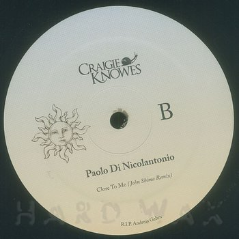 Cover art - Paolo Di Nicolantonio: Close To Me