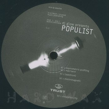 Cover art - DJ Glow Presents Populist: Psychometric Profiling
