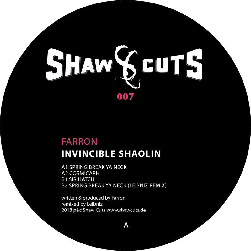 Cover art - Farron: Invincible Shaolin