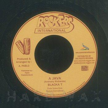 Cover art - Blacka T: A Java