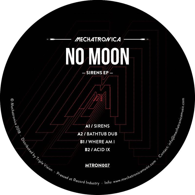 Cover art - No Moon: Sirens