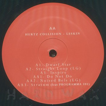 Cover art - Hertz Collision: Leskin