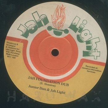 Cover art - Junior Dan & Jah Light: Jah Foundation