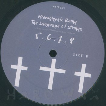 Cover art - Hieroglyphic Being: The Language Of Strings
