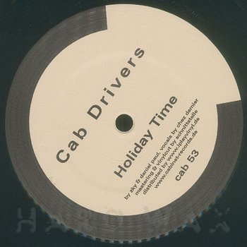 Cover art - Cab Drivers: Holiday Time Feat. Chez Damier