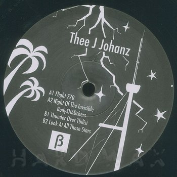 Cover art - Thee J Johanz: Flight 770