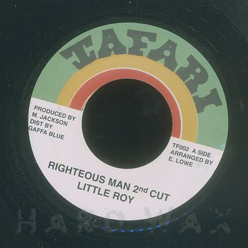 Cover art - Little Roy: Righteous Man 2nd Cut